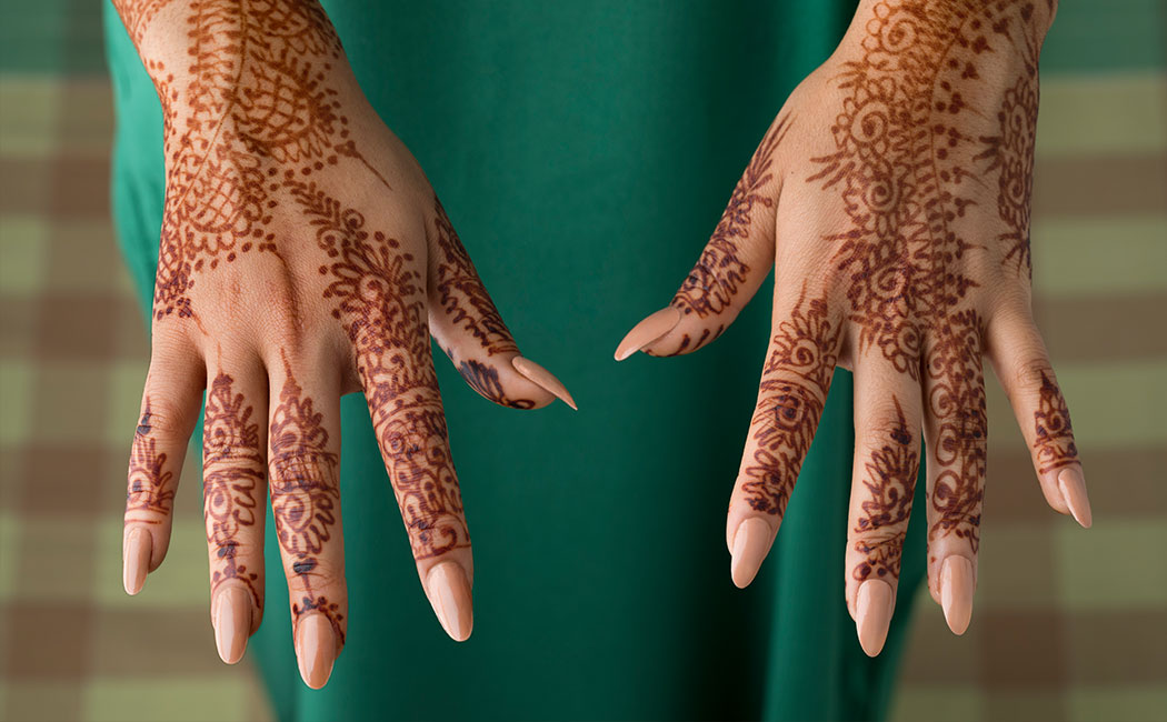 How to take off a Henna tattoo