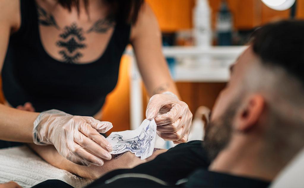 Make a Tattoo Stencil paper
