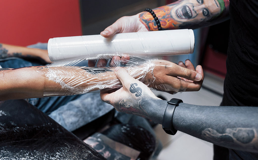 How Long Should You Keep Your New Tattoo Wrapped
